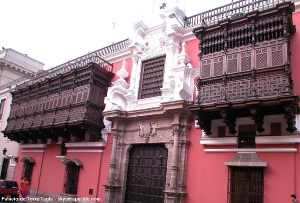 Palacio de Torre Tagle en Lima