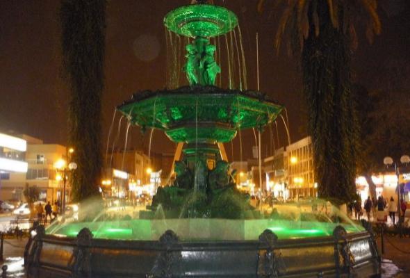 Pila ornamental de Tacna