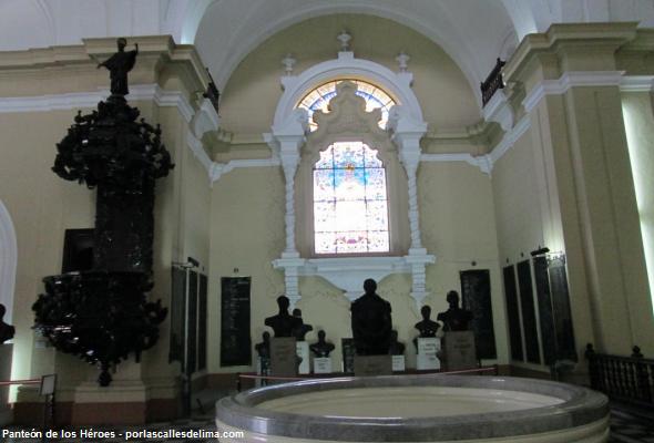 cripta de la casona de San Marcos en Lima