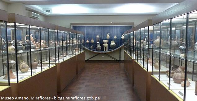 Museo de cerámicas y textiles en Miralfores