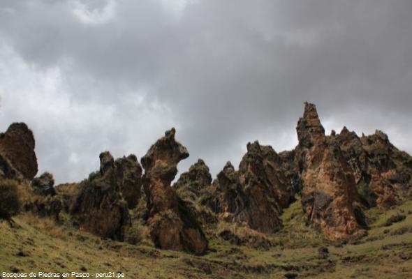 formación geológica en Vilcabamba