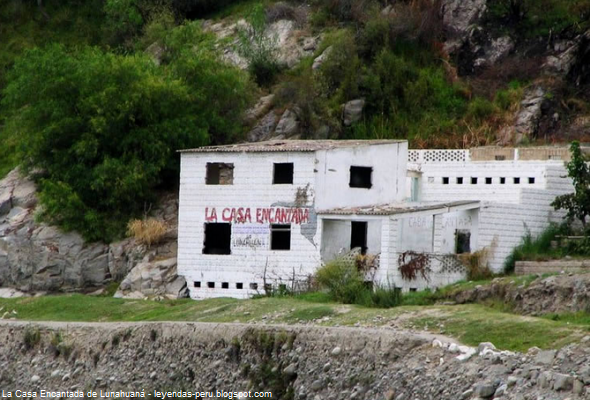 casa embrujada en Cañete
