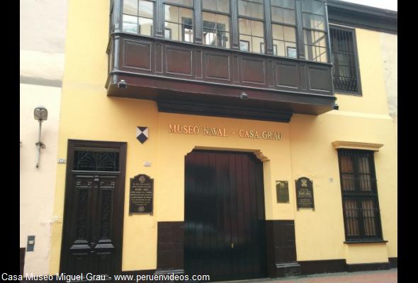 Casa de Miguel Grau en Cercado de Lima