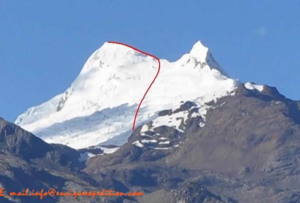 montaña de la Cordillera Blanca
