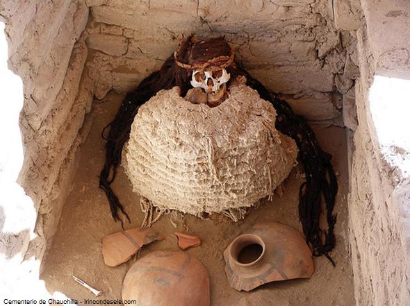 fardo funerario en Ica