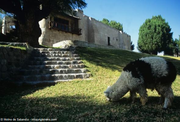 molino de la época colonial arequipeña