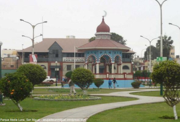 Parque Media Luna en San Miguel