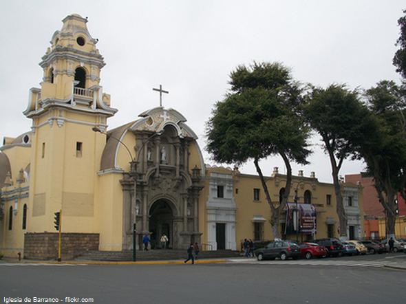 Plaza de Armas de Barranco en Lima