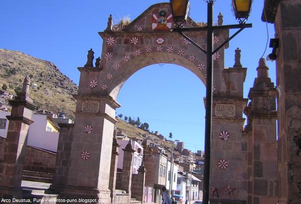 Arco Deustua en Puno