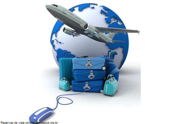 reserva de vuelo mas hotel por Internet