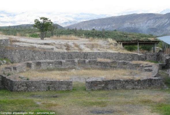 ruinas arqueológicas en Ayacucho