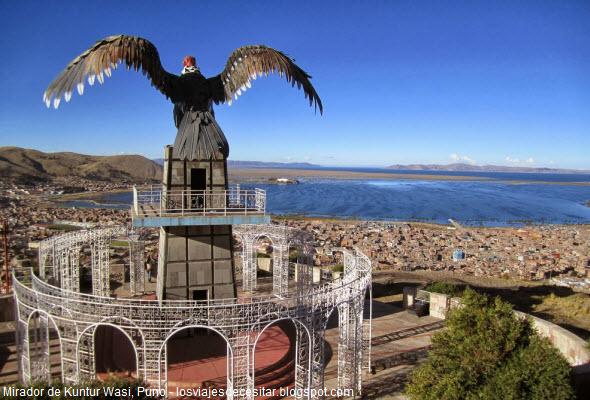 Mirador Casa del Cóndor en Puno