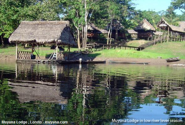 muyuna lodge en Iquitos