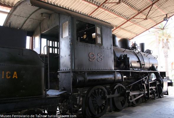 estación de tren en Tacna
