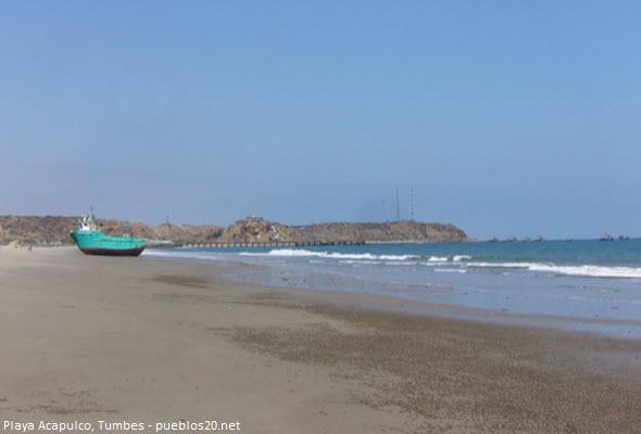 Playa Acapulco en Tumbes