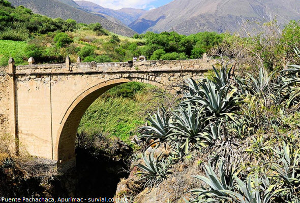 Puente Pachachaca en Apurímac