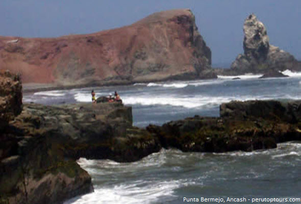 Punta Bermejo en Ancash