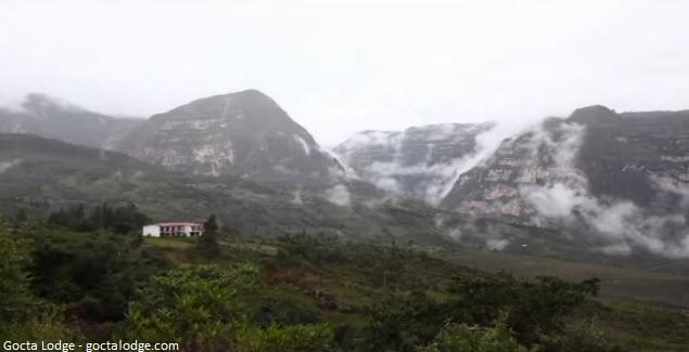 vista del hotel en chachapoyas
