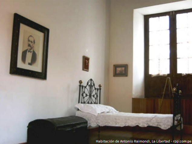 objetos personales en Museo Antonio Raimondi