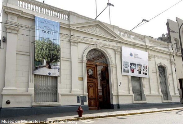 museo de minerales en Lima