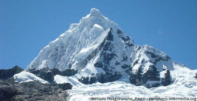 montaña en las alturas de Pasco