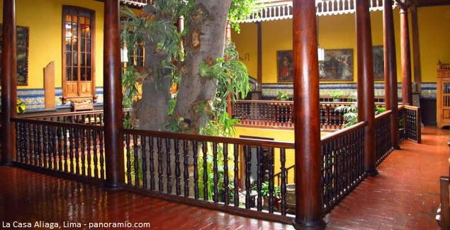 Casa de la época colonial en Lima