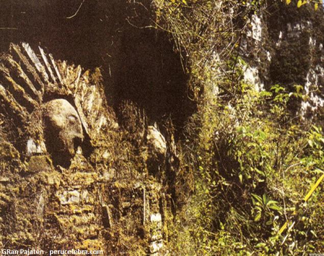 ciudadela de los chachapoyas en San Martín