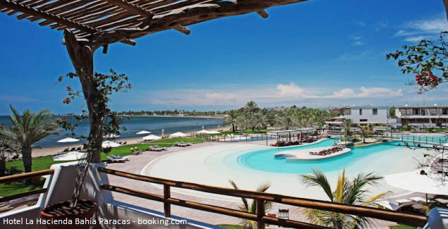 hotel en la reserva de Paracas de Ica