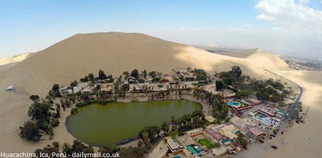 oasis en Ica