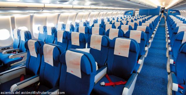 recomendaciones para el mejor asiento en el avión