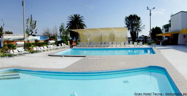 pool at the Gran Tacna Hotel