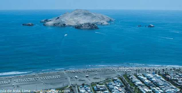 isla de aves guaneras en Lima