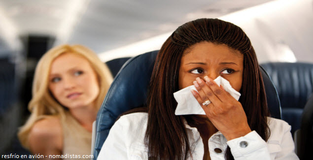 recommendations against the cold during the flight
