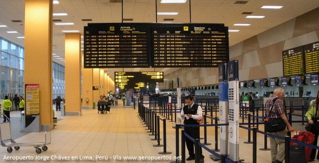 check-in en aeropuerto