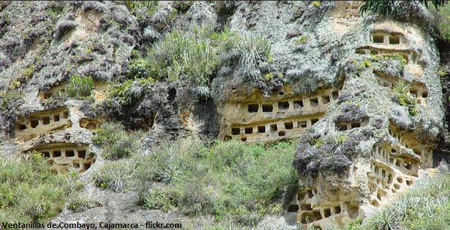 vestigio funerario en Cajamarca