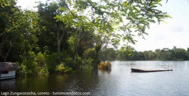 Lago Zungarococha en Loreto
