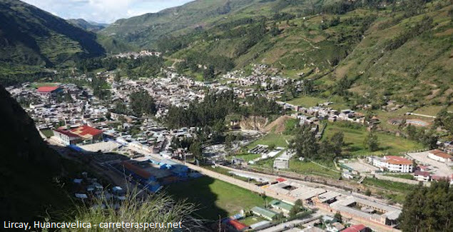 Lircay distrito de Huancavelica