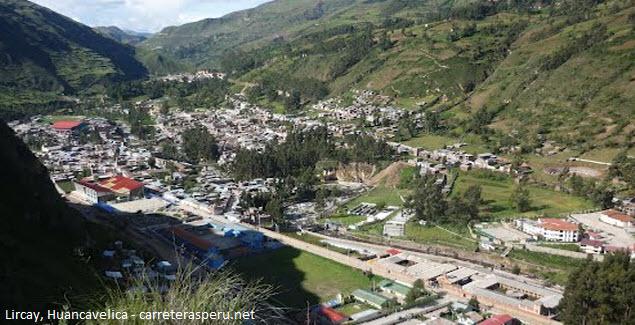 Lircay Huancavelica district