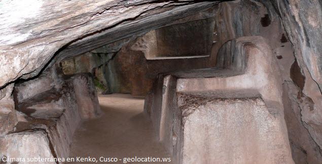 Cámara subterránea de Kenko en Cusco