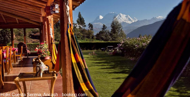 Cuesta Serena Hotel in the highlands of Ancash