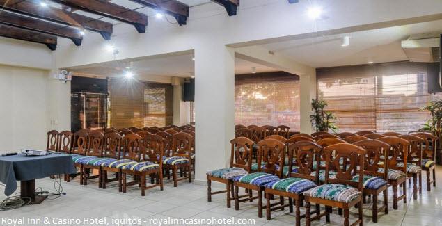 sala de reuniones en Royal Inn & Casino Hotel