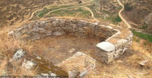 sitio arqueológico en Huaros