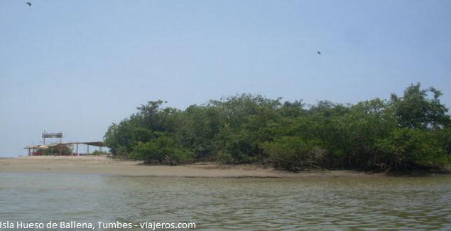 "the ""Hueso de Ballena"" Island in Tumbes"