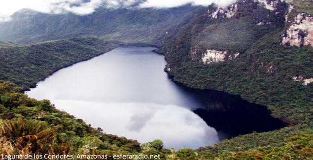 Lagoon of the Condors at Amazonas
