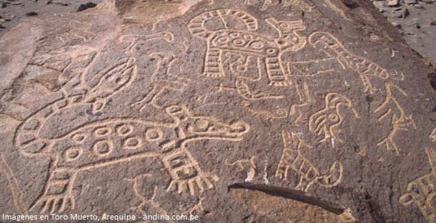 imagery of Toro Muerto