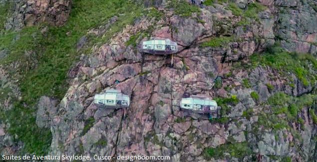 capsules suspended in Cusco