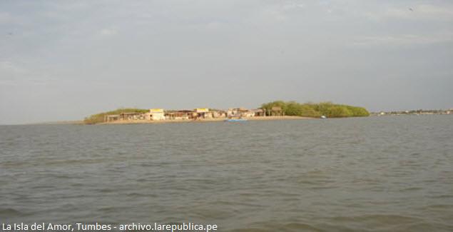 isla en los manglares de Tumbes