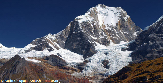 the second mountain highest of Peru