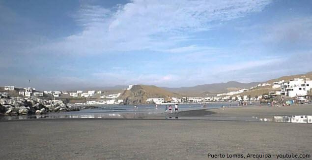 Puerto Lomas en Arequipa