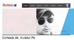 Foto portada de la web Aviatur para aprender a pilotar aviones comerciales